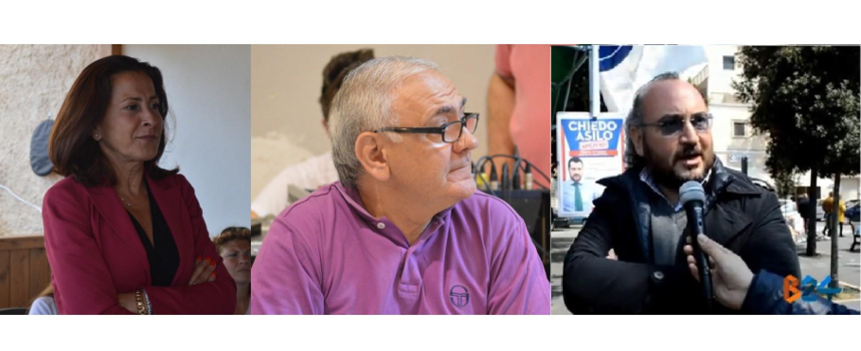 Elezioni regionali, scendono in campo anche l'assessore Sasso, il consigliere Sannicandro e Rocco Prete