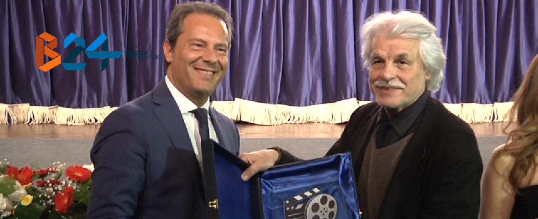 """Anteprima nazionale film """"La scelta"""", l'entusiasmo di Spina, le lodi di Placido / VIDEO"""