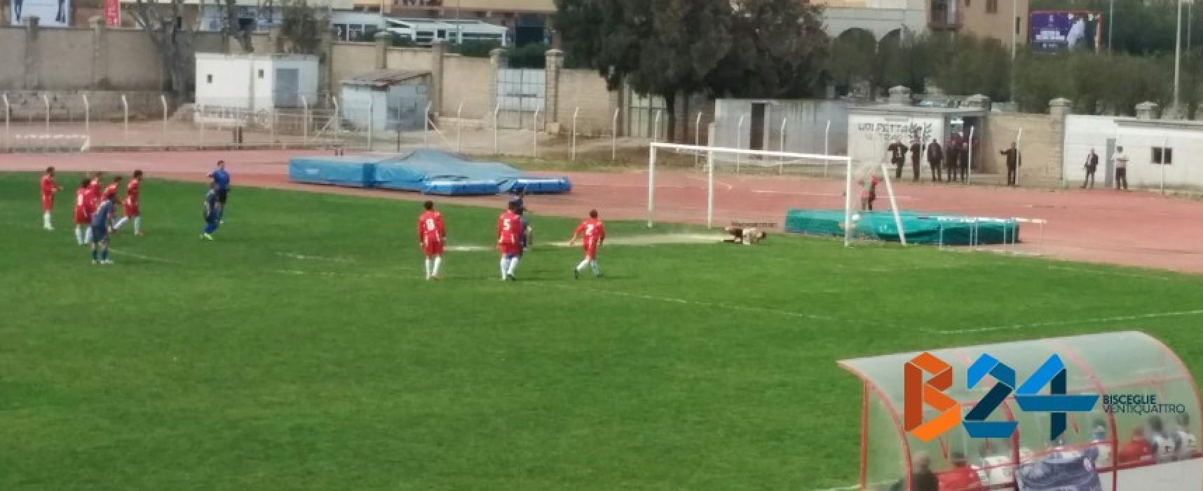 Blitz mattutino per l'Unione Calcio, 0-2 in casa della Nuova Molfetta