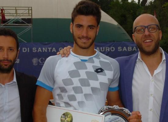 """Andrea Pellegrino vince il 37° torneo Internazionale """"Città di Santa Croce"""""""