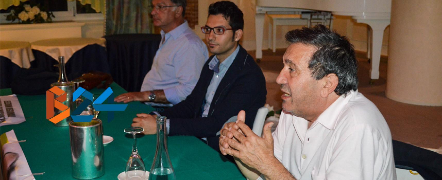 Azzollini presenta Di Pierro, critica Spina e sferra bordate contro il Pd sulla Cdp / FOTO