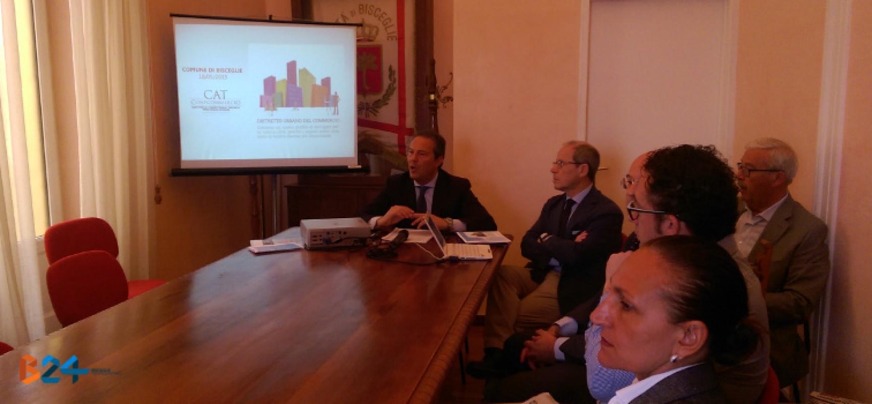 """Distretto Urbano del Commercio a Bisceglie, Spina: """"Pronti a far squadra con i commercianti"""""""