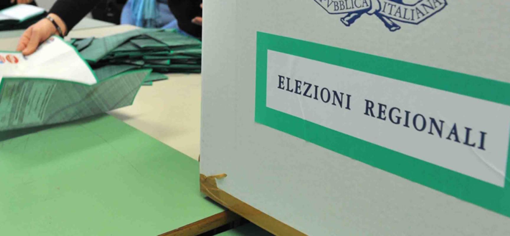 Undici candidati biscegliesi al consiglio regionale, 7 candidati presidenti, 19 liste