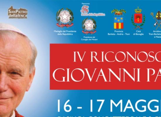 """Riconoscimento """"Giovanni Paolo II"""" il 16 e 17 maggio: tra gli ospiti Nek, Roby Facchinetti e Filiberto"""