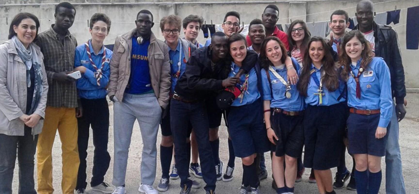 Ottanta Scout a Villa San Giuseppe per l'accoglienza e contro i luoghi comuni / FOTO
