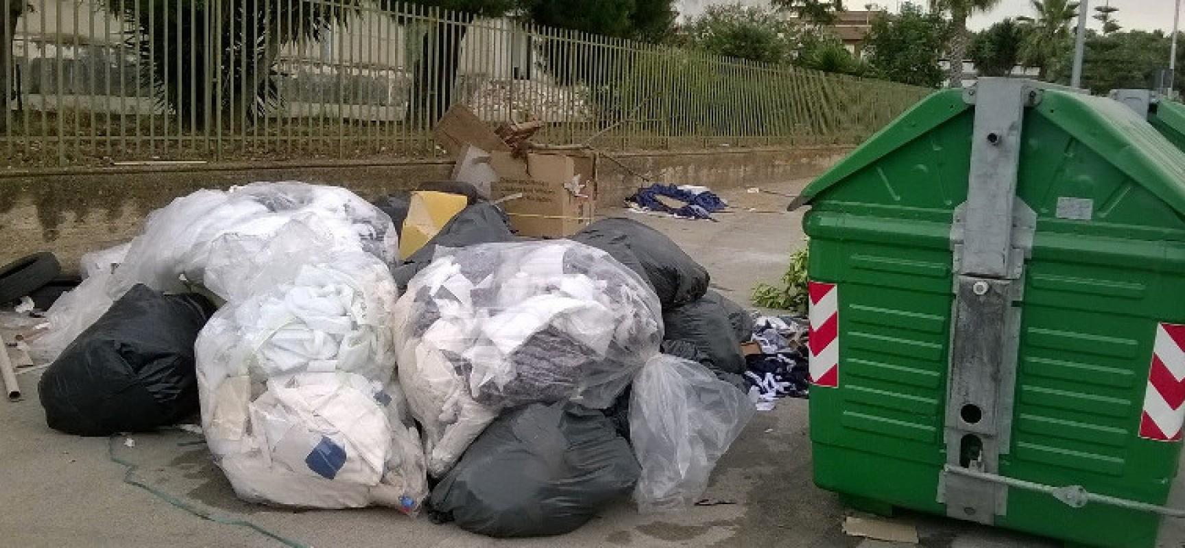 Zona artigianale ovest ancora sommersa dai rifiuti, la denuncia di un residente / FOTO