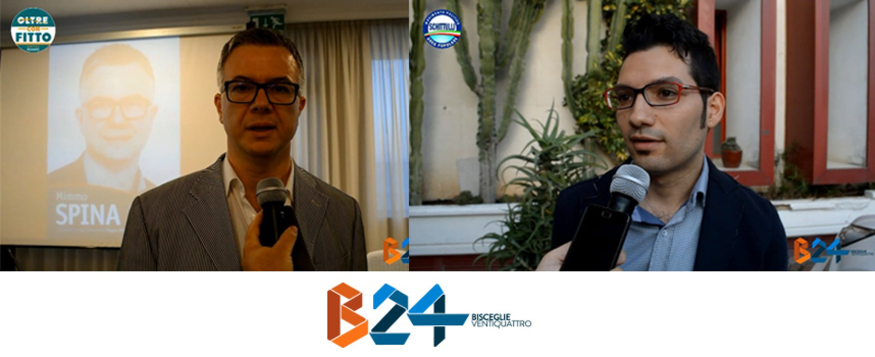 Elezioni regionali, intervista ai candidati consiglieri Spina (Oltre) e Di Pierro (Area Popolare) / VIDEO