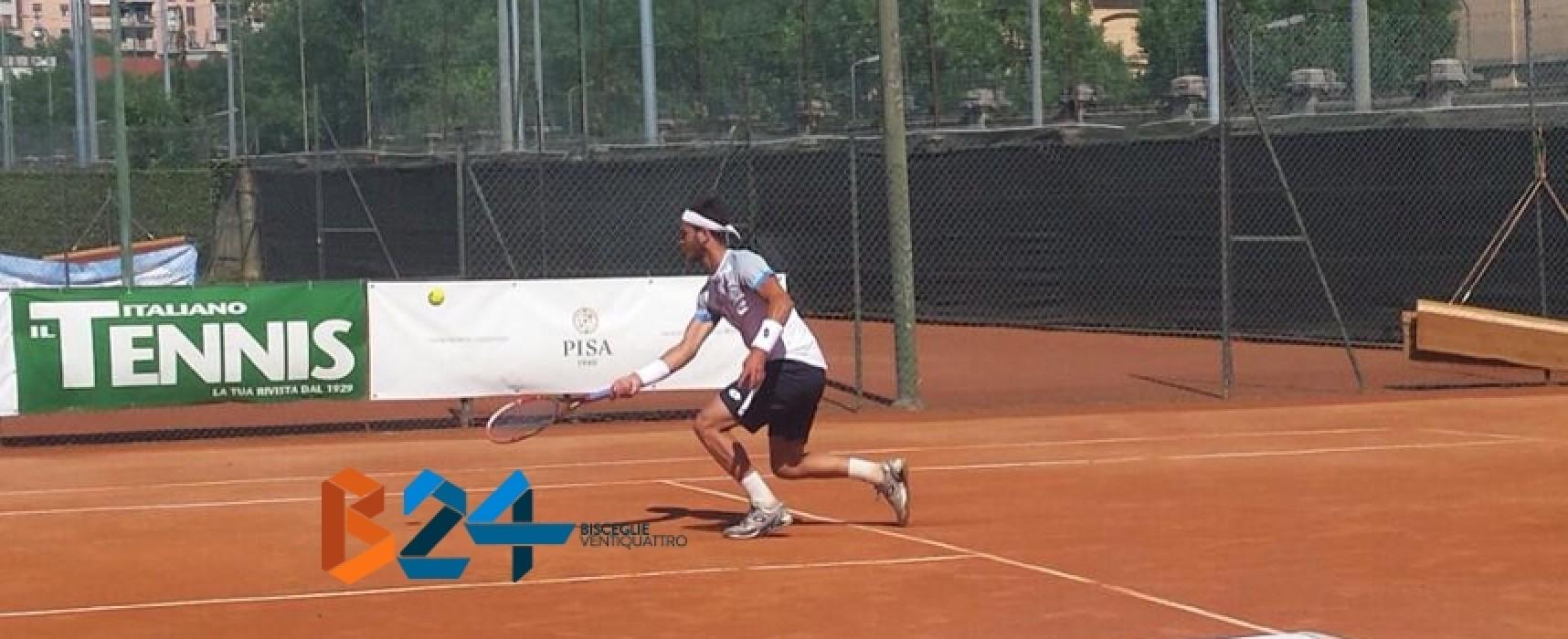 Tennis, Pellegrino out a Casinalbo nel torneo di singolare