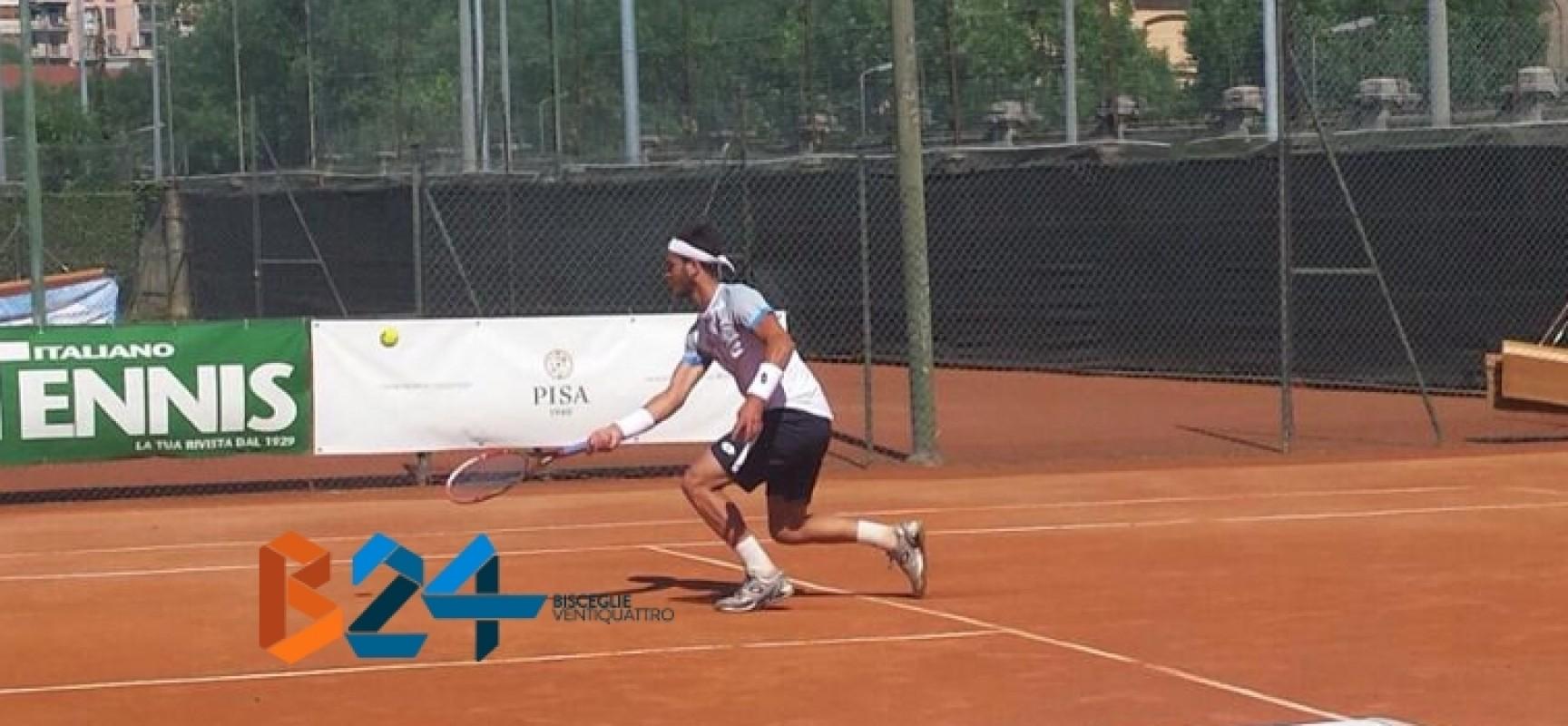 Tennis, l'avventura di Pellegrino all'ITF di Bergamo si conclude in semifinale