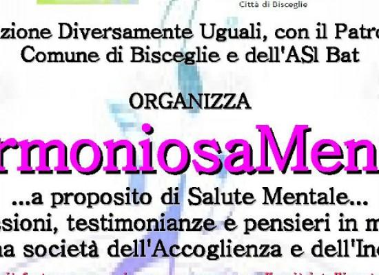 """""""Armoniosamente"""", incontro sulla salute mentale organizzato dall'associazione Diversamente Uguali"""