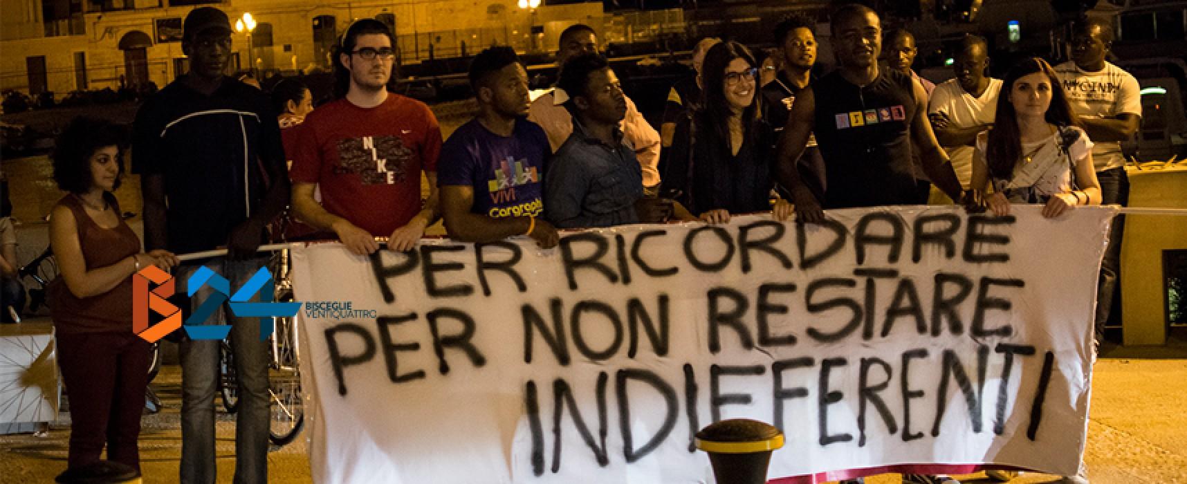 Corteo in ricordo delle vittime del mare, la photogallery di Bisceglie24 / FOTO