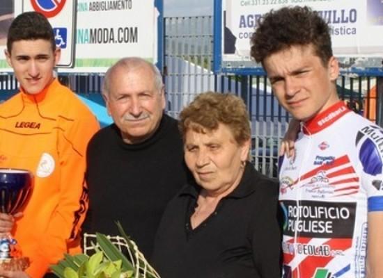 Ciclismo, Roberto Loconsolo terzo al Memorial D'Avino