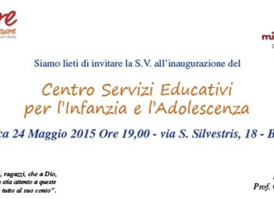 """""""I care"""" inaugura il Centro Servizi educativi per l'infanzia e l'adolescenza / DETTAGLI"""