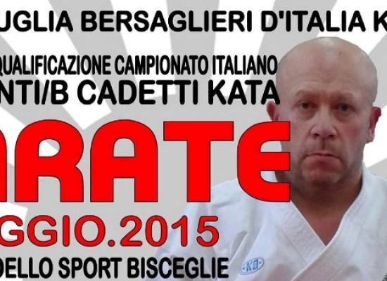 "Karate, domenica al PalaDolmen c'è il ""Trofeo Puglia Bersaglieri d'Italia 2015"""