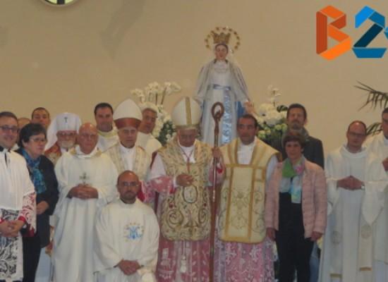 La Vergine Maria Immacolata di Domenico Velletri benedetta nella chiesa di sant'Andrea apostolo /FOTO