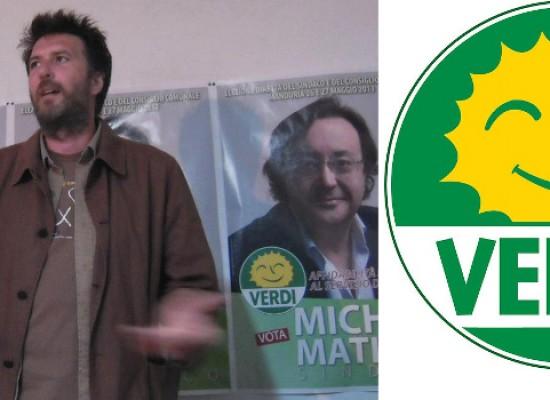 Gregorio Mariggiò (Verdi) a Bisceglie, in radio e comizio in piazza. «Mia candidatura? Atto d'amore per la Puglia»