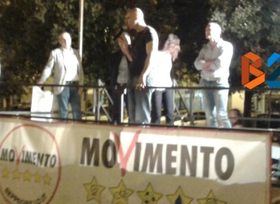 """Regionali 2015, i senatori M5S Ciampolillo e Martelli a Bisceglie: """"Basta con le minestre riscaldate"""""""