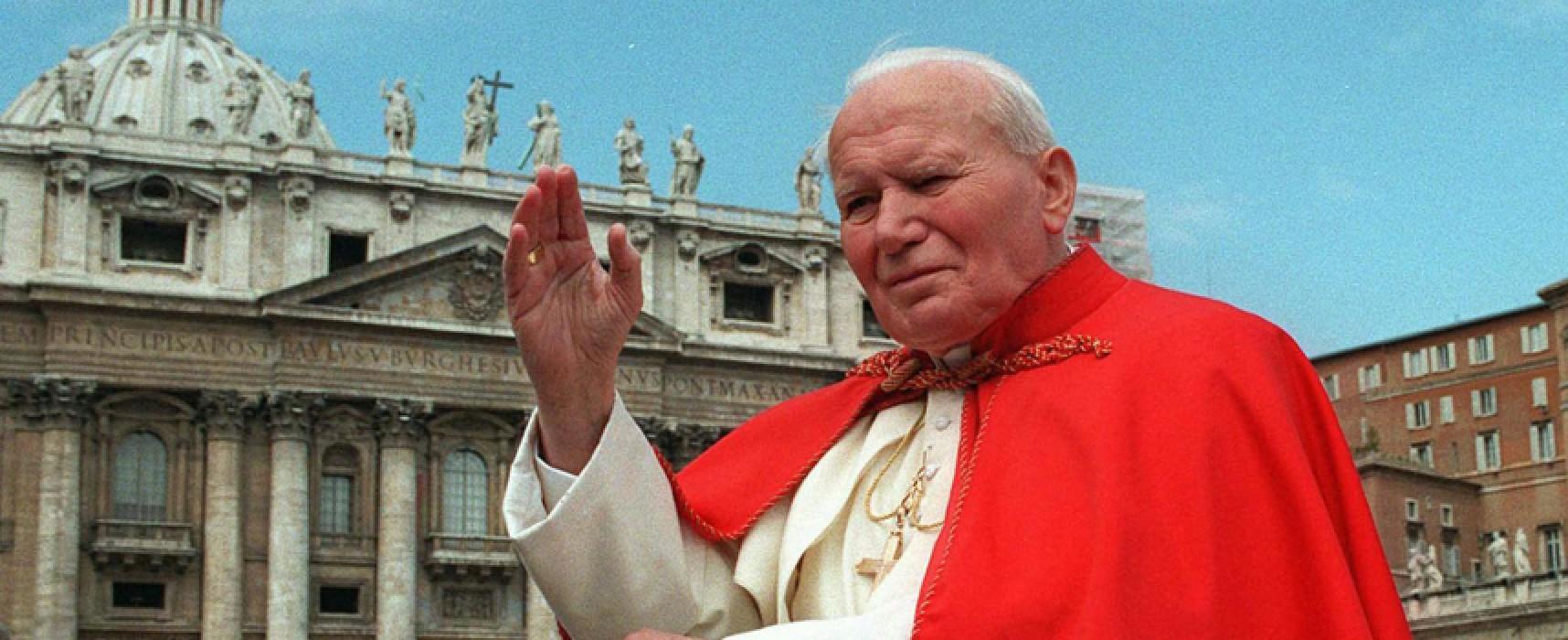 """""""Riconoscimento Giovanni Paolo II"""": due giornate in ricordo del Papa Santo"""