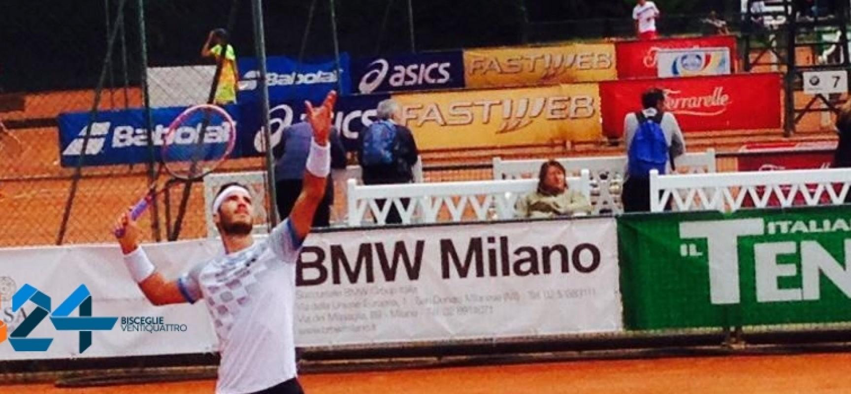 Tennis, Pellegrino ai quarti di finale dell'ITF Raiffeisen Future 2017