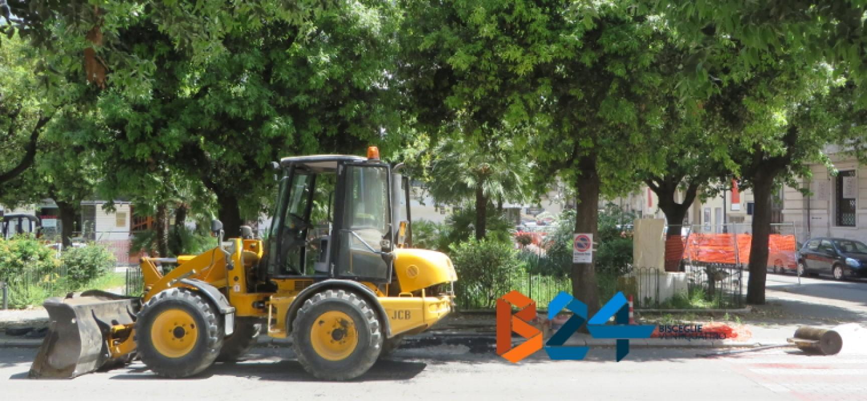 Iniziati i lavori in Piazza san Francesco, viabilità rivoluzionata / DETTAGLI