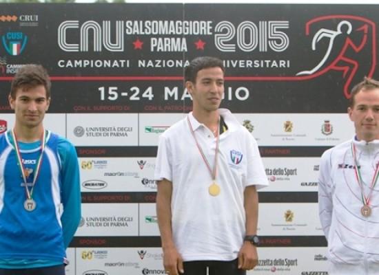 Campionati Universitari 2015, Ridger terzo nei 5000 metri