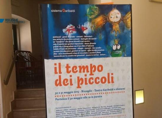 """""""Il tempo dei piccoli"""", conferenza di presentazione a cura di Sistema Garibaldi / PROGRAMMA e FOTO"""