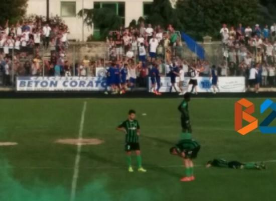 Unione Calcio, il presidente Pedone e il bomber Di Pinto sono pronti in vista della finale playoff