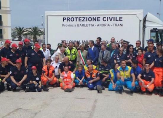 Gli operatori emergenza radio di Bisceglie al primo meeting provinciale di Protezione Civile