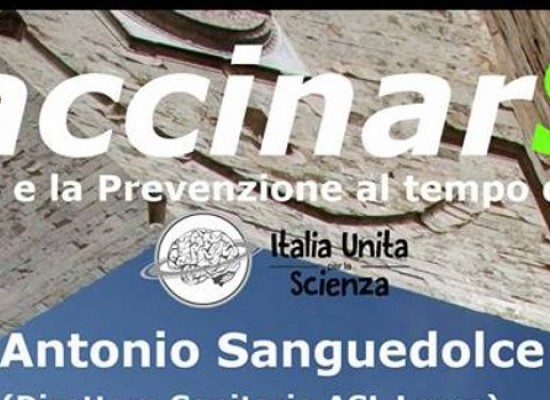"""L'associazione """"Italia Unita per la Scienza"""" presenta """"VaccinarSi"""""""