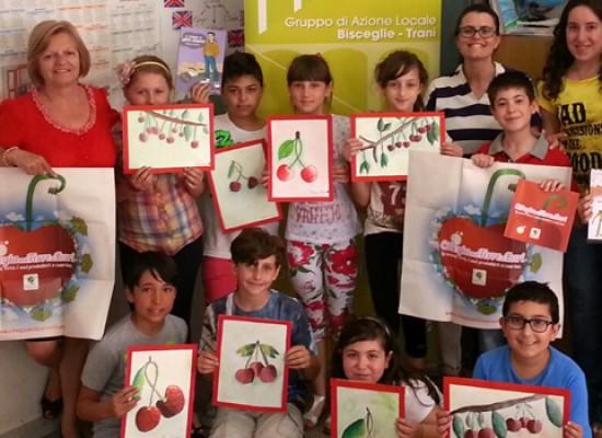 Ciliegie nelle scuole per promuovere l'educazione alimentare fra i più piccoli