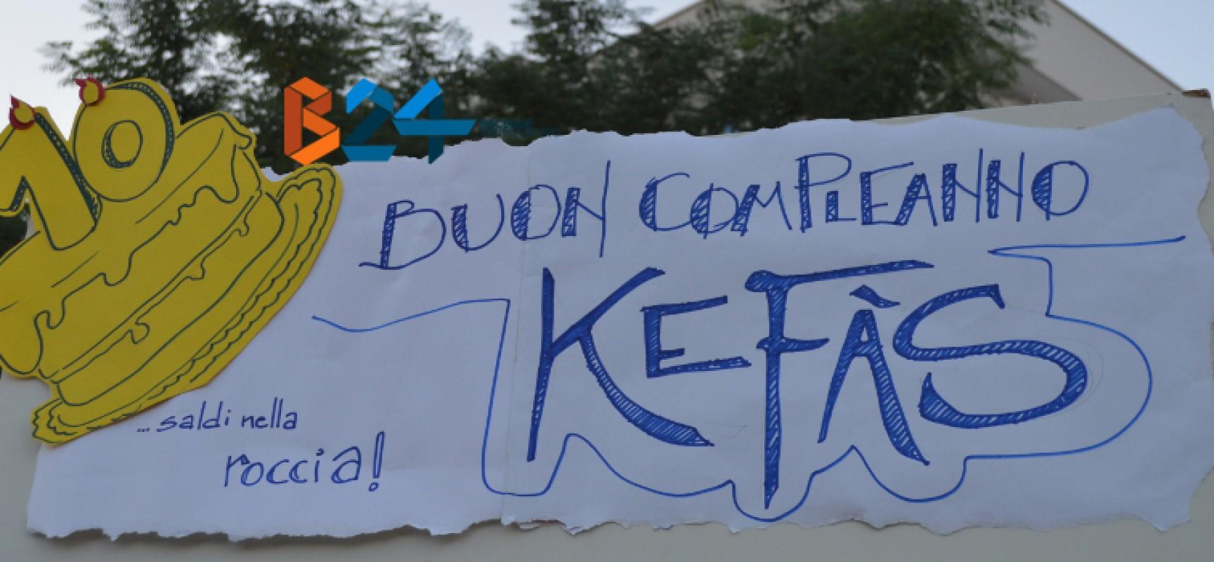 """Per i dieci anni di """"Kefàs"""" tutte le testate locali si sono incontrate per """"Raccontare la Città"""" / FOTO"""
