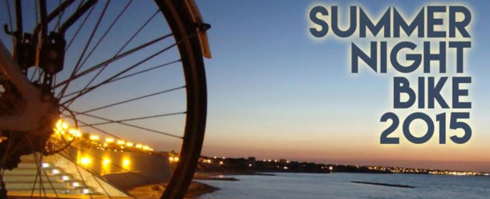 """Parte """"Summer Night Bike"""", l'evento estivo dedicato agli appassionati della bici"""