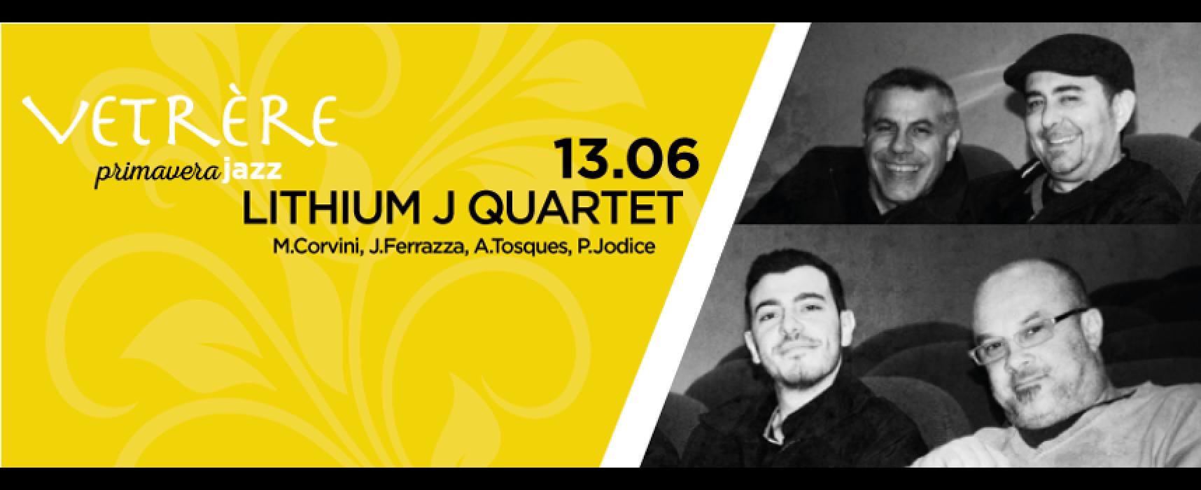 Vetrère Primavera Jazz, Lithium J Quartet a Palazzo Ammazzalorsa / PROGRAMMA