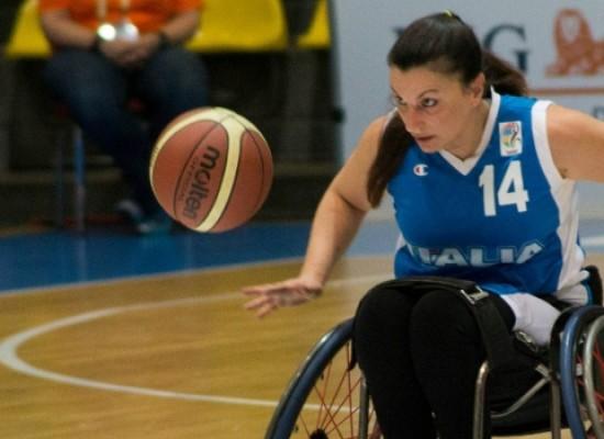 Europei basket in carrozzina, convocata la biscegliese Roglieri