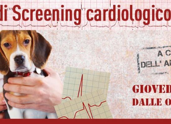 """Screening cardiologico gratuito presso l'ambulatorio veterinario """"Dott. Gennaro Papagni"""""""
