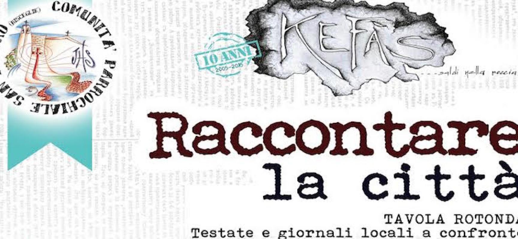 """Kefàs spegne dieci candeline con una tavola rotonda dal titolo """"Raccontare la città"""""""