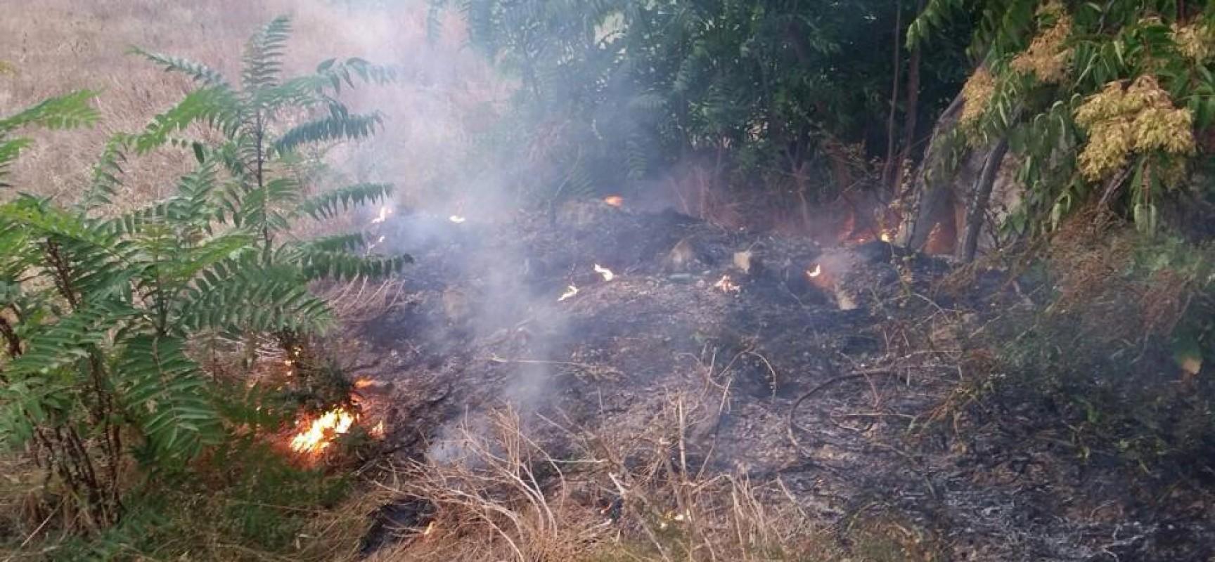 Incendio in Via San Martino, intervengono i volontari dell'OER