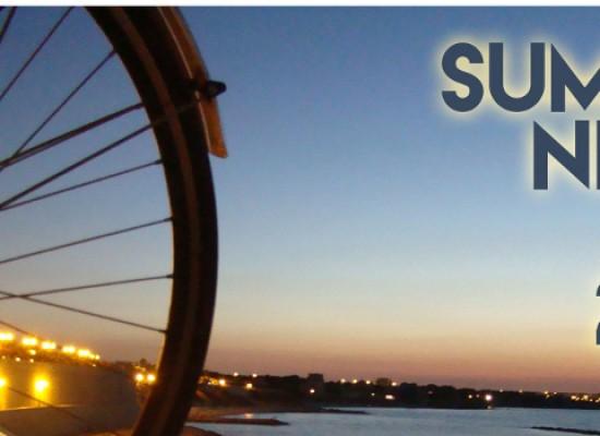 """Quarto appuntamento della """"Summer Night Bike"""", l'iniziativa estiva di Biciliae"""