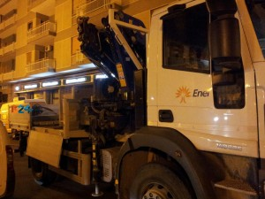 Blackout San Lorenzo Enel interna