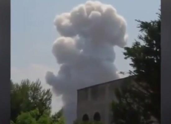 Esplode fabbrica incaricata per i fuochi d'artificio della festa dei Santi