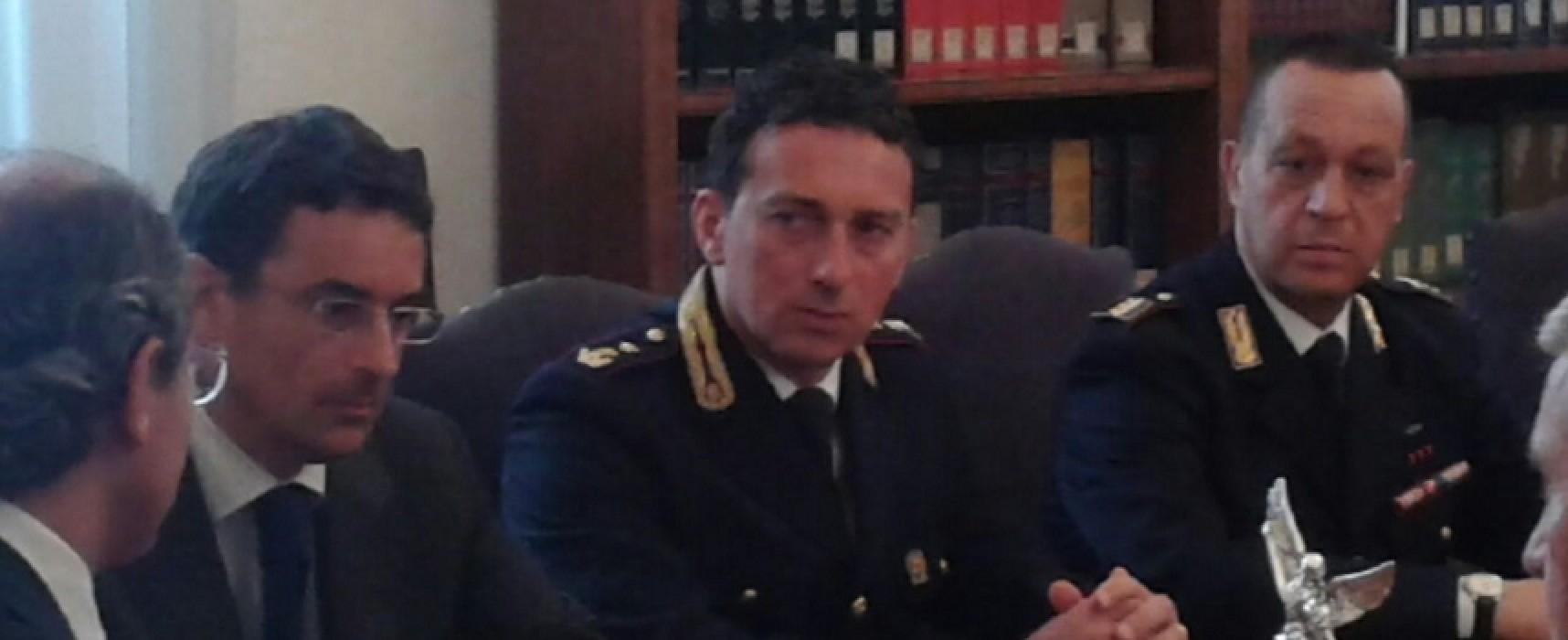 Il biscegliese Fabrizio Gargiulo dirigente del commissariato di Polizia di Bitonto