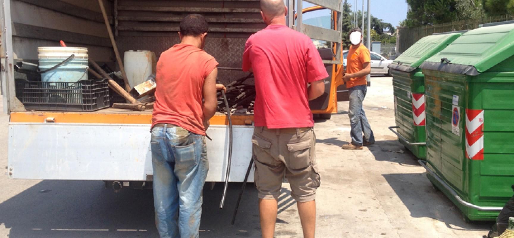 Conferimento dei rifiuti, altri due trasgressori beccati stamane nella zona artigianale ovest