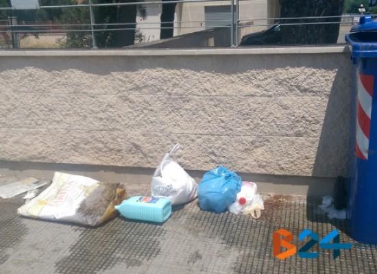 Rifiuti abbandonati in strada: arrivano le prime multe da 500 euro