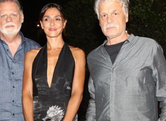 """""""La Scelta"""", Ambra Angiolini premiata come miglior attrice all'Ischia Global Fest"""