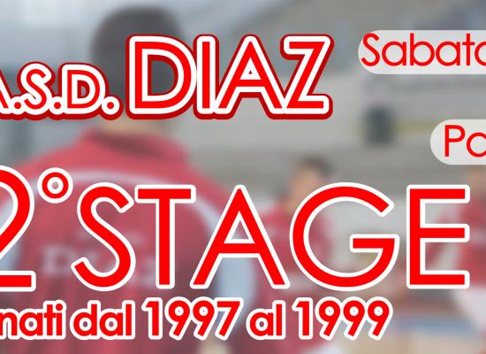 Sabato 1 agosto nuovo stage per la Diaz C5