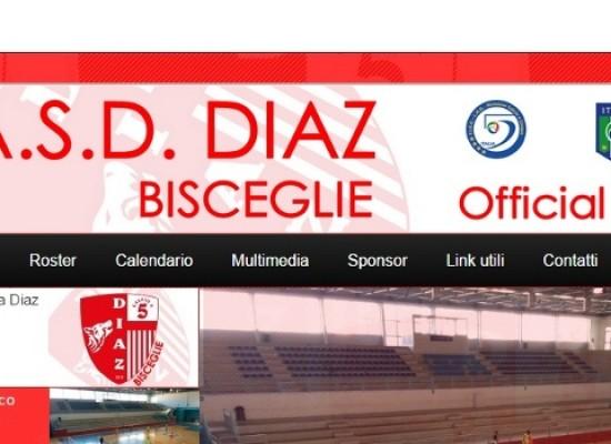 Online oggi il sito web della Diaz C5