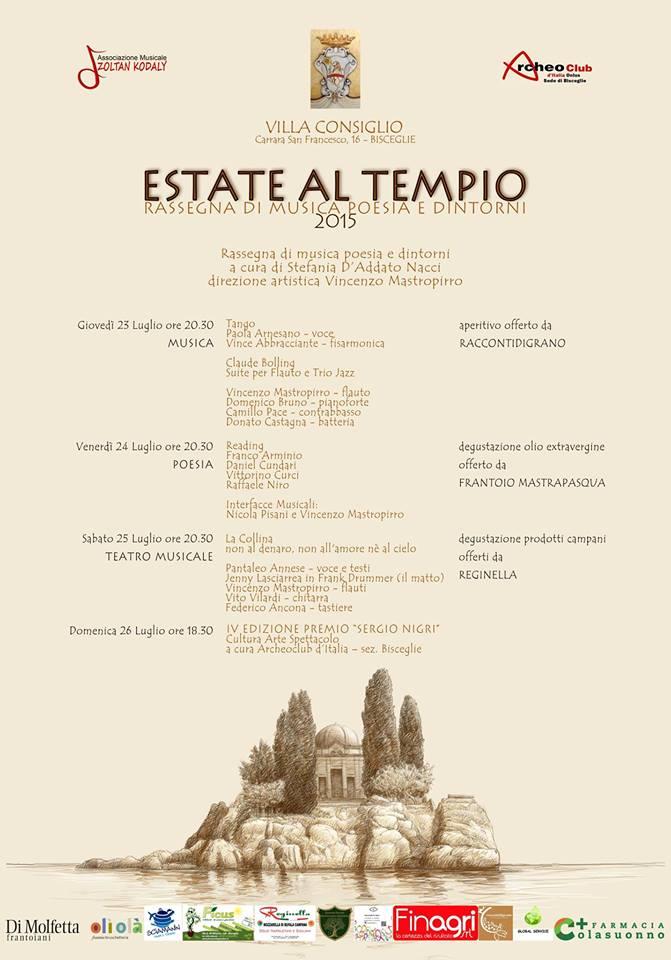 estate tempio 2015