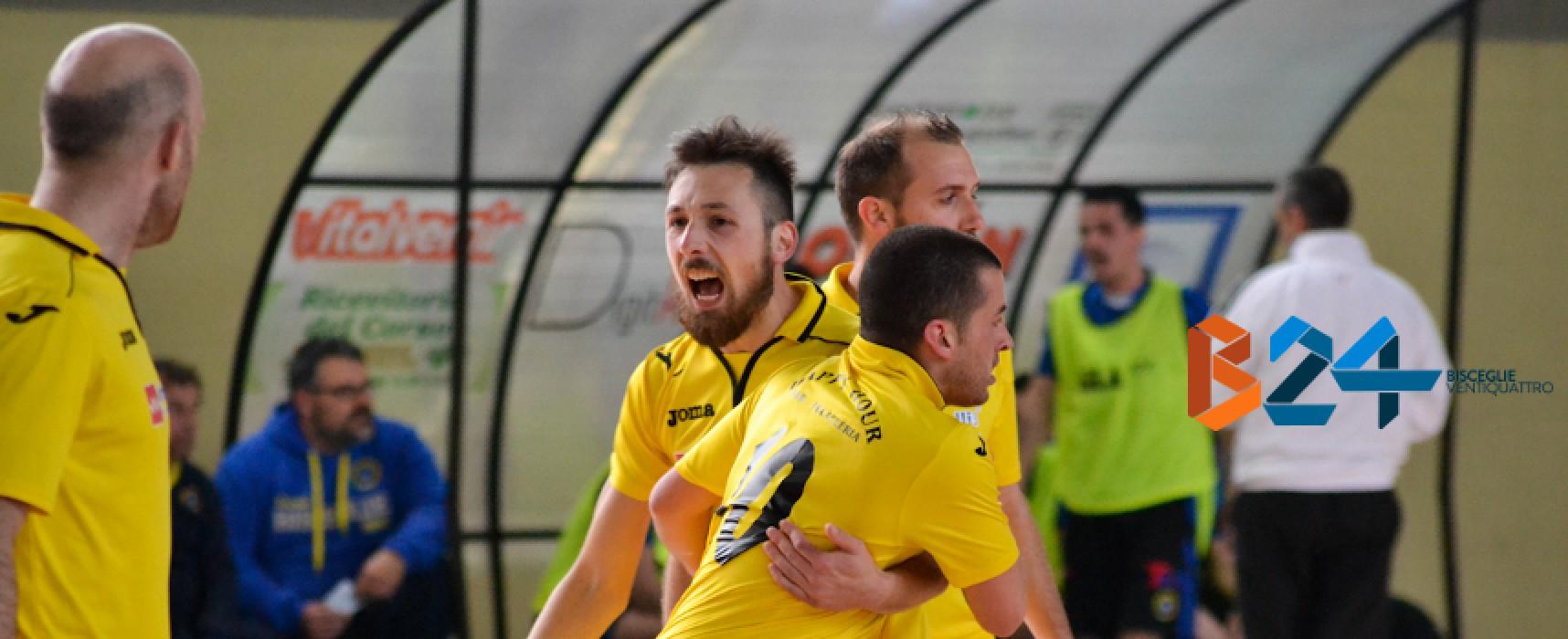 Imprevisto in casa Futsal Bisceglie, Garofalo non farà parte del gruppo