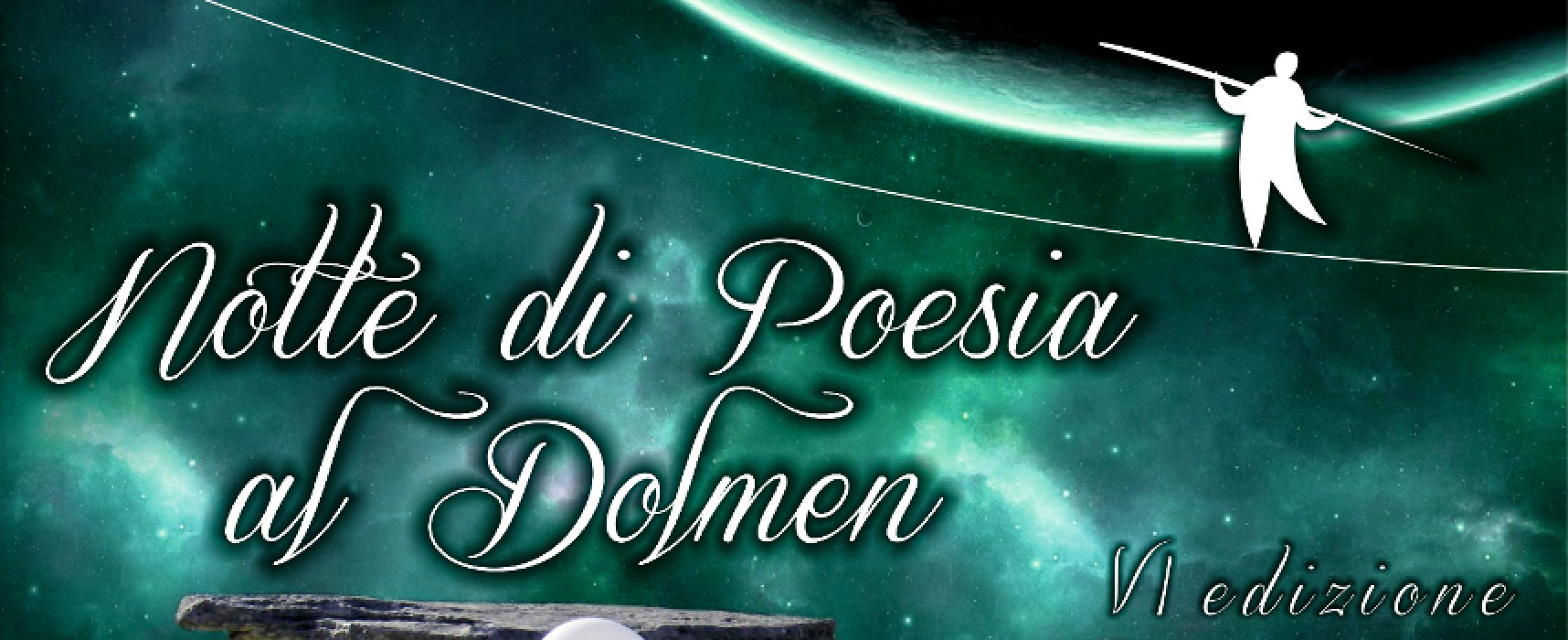 """Si avvicina la VI edizione di """"Notte di Poesia al Dolmen"""": ecco i nomi dei protagonisti della serata"""