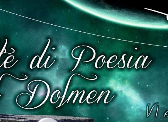 """""""Notte di Poesia al Dolmen"""", VI edizione fra tradizione e interessanti novità /  DETTAGLI"""